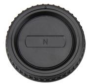 JJC L-R2 Gehäusedeckel und Objektivrückdeckel Set für Nikon F