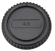 JJC L-R5 Gehäusedeckel und Objektivrückdeckel Set für 4/3 Mount Objektiv / Kamera