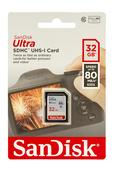 SanDisk Ultra SDHC 32GB 533x 80MB/s Speicherkarte