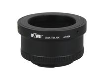 KIWIFOTOS LMA-TM-NX Objektivanschluss Adapters for T-Mount-Objektiv auf Samsung NX Kameragehäuse