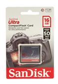 SanDisk CF Ultra 16GB 333x 50MB/s Speicherkarte