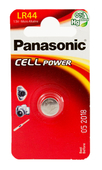 Panasonic Cell Power LR44 1.5V Micro Alkaline (1er Blister)
