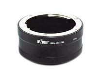 KIWIFOTOSLMA-OM_EM Objektivanschluss Adapter für Olympus OM-Objektiv auf Sony E Kameragehäuse