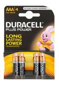 Duracell Plus Power AAA, LR03 (4er Blister)