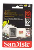 SanDisk microSDHC Extreme 32GB 90MB/s 600x Speicherkarte