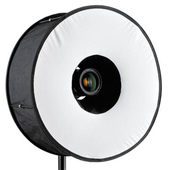 RoundFlash Magnetic Black Ringblitz-Diffuser Mobile Softbox 45 cm