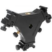 Westcott Triple Speedlite Bracket 3fach-Blitzhalter für 3x Aufsteckblitz oder Videoleuchte an Stativ