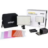 LEDGO B150 Dimmbare 9 W LED Leuchte Light mit 150 LEDs für DSLR und Camcorder