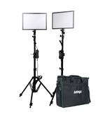Ledgo E268CII Bi-color Profi kit für Interview, Modell- und Hochzeitsfotografie