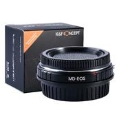 K&F Adapter, Minolta MD Objektive auf Canon EOS Kamera 1100D 1000D 100D 700D 60D