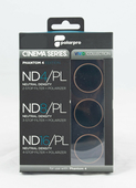 PolarPro Cinema Filter 3er Pack für DJI Phantom 4 - ND4, ND8, ND16 / Polfilter CPL