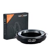 K&F Adapter Leica M Objektive auf Sony E NEX 3 5 6 7 a6000 a5000 a7 a7r a7r II