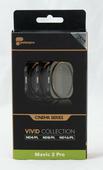 PolarPro Cinema Filter 3er Pack für DJI Mavic 2 Pro ND4 ND8 ND16 / Polfilter CPL VIVID