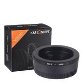 K&F Concept Adapter mit Optik, M42 Objektive auf Nikon Kamera D3000, D750, D800