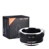 K&F Adapter, PK-FX, PK Pentax K lens to Fujifilm DSLR, Fuji X mount, X-Pro2, X-E1