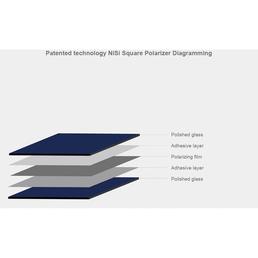 NiSi HD Polarizer 150x150mm HD Pol Glas Linear Polfilter