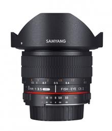 Objektiv Samyang 8mm F3.5 UMC FISH EYE CSII Nikon