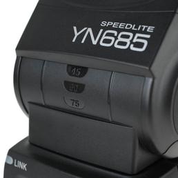 Yongnuo Speedlite YN685 Blitzgerät für Canon mit ETTL, HSS, SCS, integriertem Funk-Empfänger und Gruppensteuerung