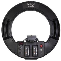 LEDGO LG-R320C LED Bi-Color Ringleuchte für DSLR mit Funk