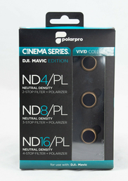 PolarPro Cinema Series Vivid Collection 3-Filter Pack für DJI Mavic Pro