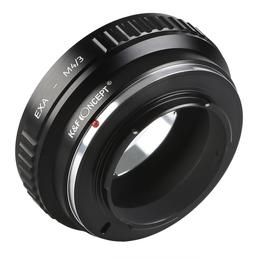 K&F Adapter EXA-M4/3, Exakta Objektiv auf Panasonic / Olympus Kamera mit micro 4/3 Bajonett