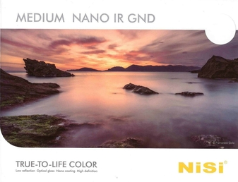 NiSi Filter 150x170 Nano IR GND16 ND16 1.2 to 0.15 (4 to 0.5-Stop) Reverse S5
