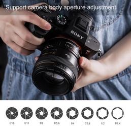 K&F Adapter Auto Fokus Canon EOS EF Objektive auf Sony E NEX a6000,a5000,a7,a7r