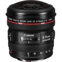 Objektiv Canon EF 8-15mm f/4L Fisheye USM