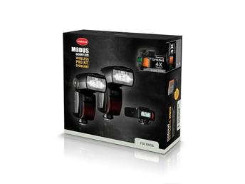 Hähnel Modus 600RT Wireless PRO KIT Speedlight für Nikon DSLR