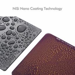 NiSi Nano IR ND64 (1.8) Filter, 6 stops Graufilter, Neutraldichtefilter 150x150mm