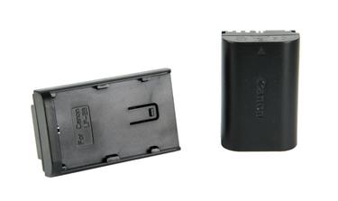 Ledgo Adapterplatte für Canon LP-E6 Akkus