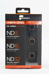 PolarPro Cinema Series Shutter Collection 3-Filter Pack für DJI Mavic