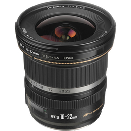 Objektiv Canon EF S 10-22mm f/3.5-4.5 USM