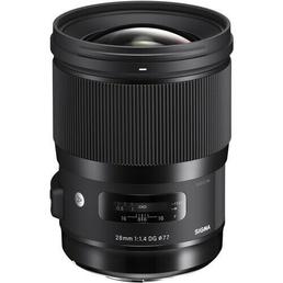 Weitwinkel Objektiv Sigma 28mm f/1.4 DG HSM Art für Sony E-Mount