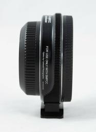 Metabones Adapter Canon EF Objektive auf BMPCC Kamera Speed Booster 0.58 schwarz
