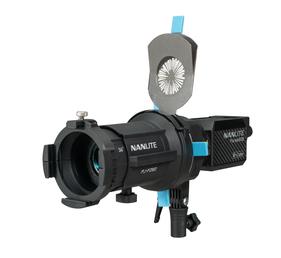 Nanlite Projektorhalterung für Forza 60,60B LED Leuchte mit 36 Grad Objektiv
