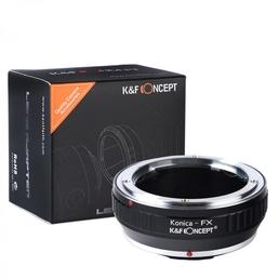 K&F Adapter AR-FX, Konica AR Objektive auf Fuji X Series Kamera X-M1 X-T1