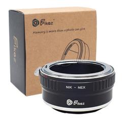 Fikaz Adapter NIK-NEX Nikon AI Mount Objektive to Sony E NEX, a5000,a6000,a63000